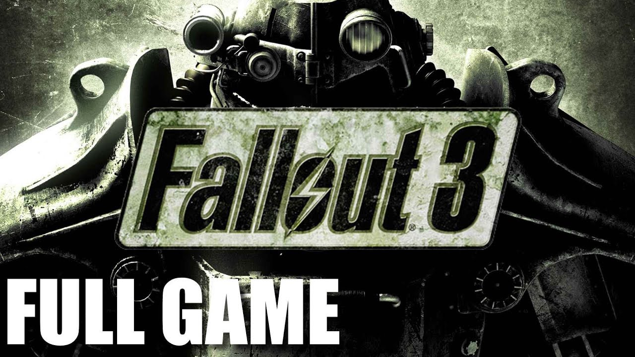Fallout 3 - Full Game Walkthrough (No Commentary Longplay)
