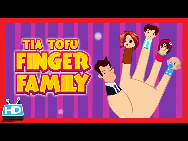 "Tia & Tofu ""Finger Family Song"""
