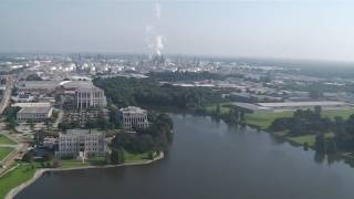 View from the Louisiana state capital building