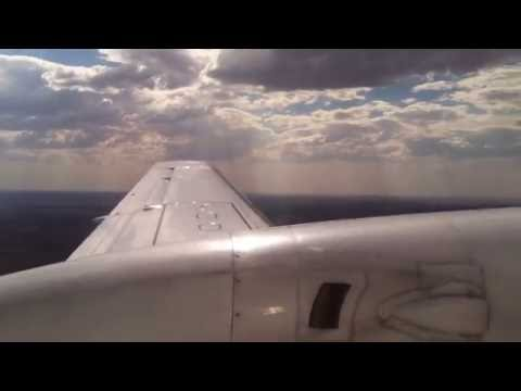 REX Regional Express approach and landing Broken Hill