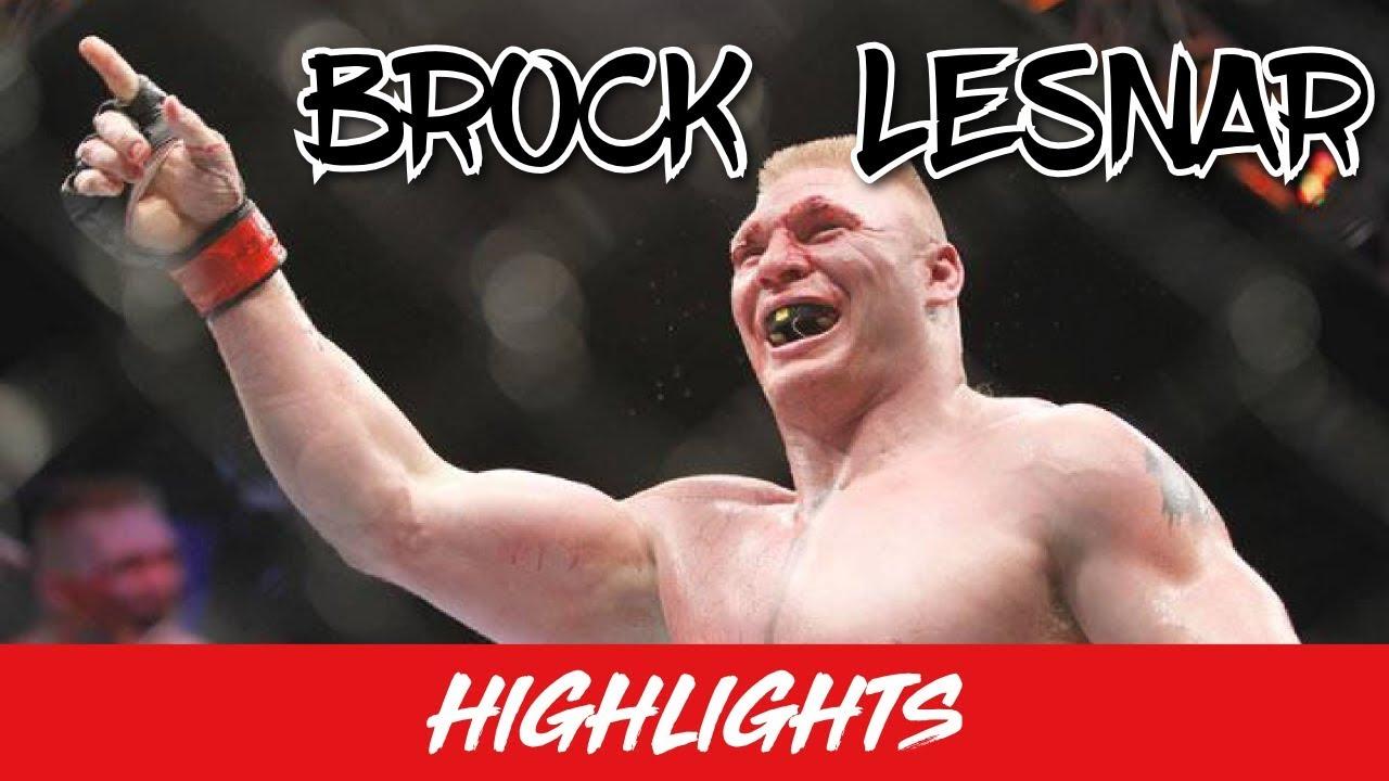 Brock Lesnar Mma Highlights 2018 Ready For War