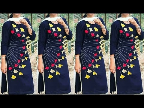 Latest Punjabi Suit Collection || Contrast Dupatta Suit || Salwar Kameez Design