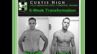 Scott Herman, Curtis High 6 Week Transformation Vid Preview