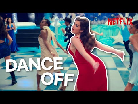Addison Rae Uses Her TikTok Dance Skills For Epic Prom Dance-Off | He's All That | Netflix