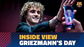 [BEHIND THE SCENES] Griezmann's presentation from the inside
