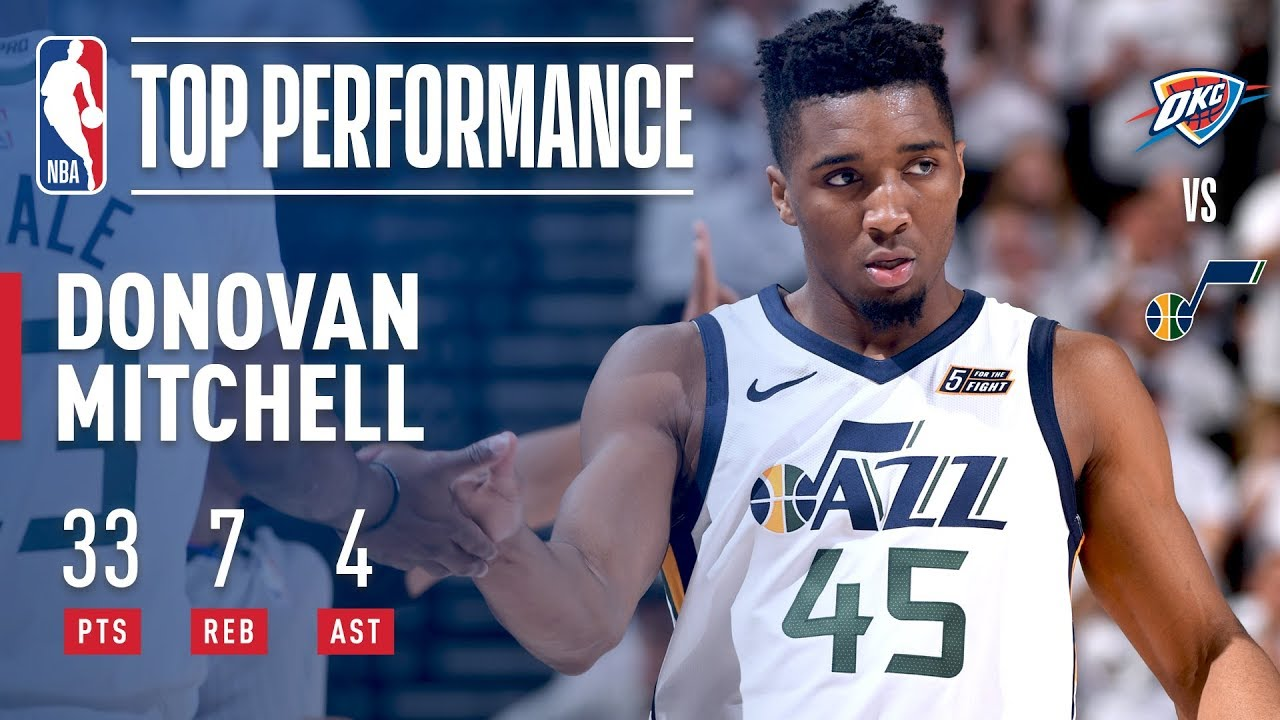 Donovan Mitchell scores 32 to lead Utah Jazz to season-opening win