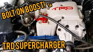 TRD Superchargers are AWESOME!