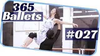 Romantic ballet - ballet dance- ballet duet 027