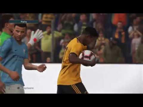 Pes 2019 First Goal Adama Traore Youtube