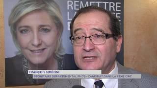 Législatives : Le FN présentera des candidats dans tous les Yvelines