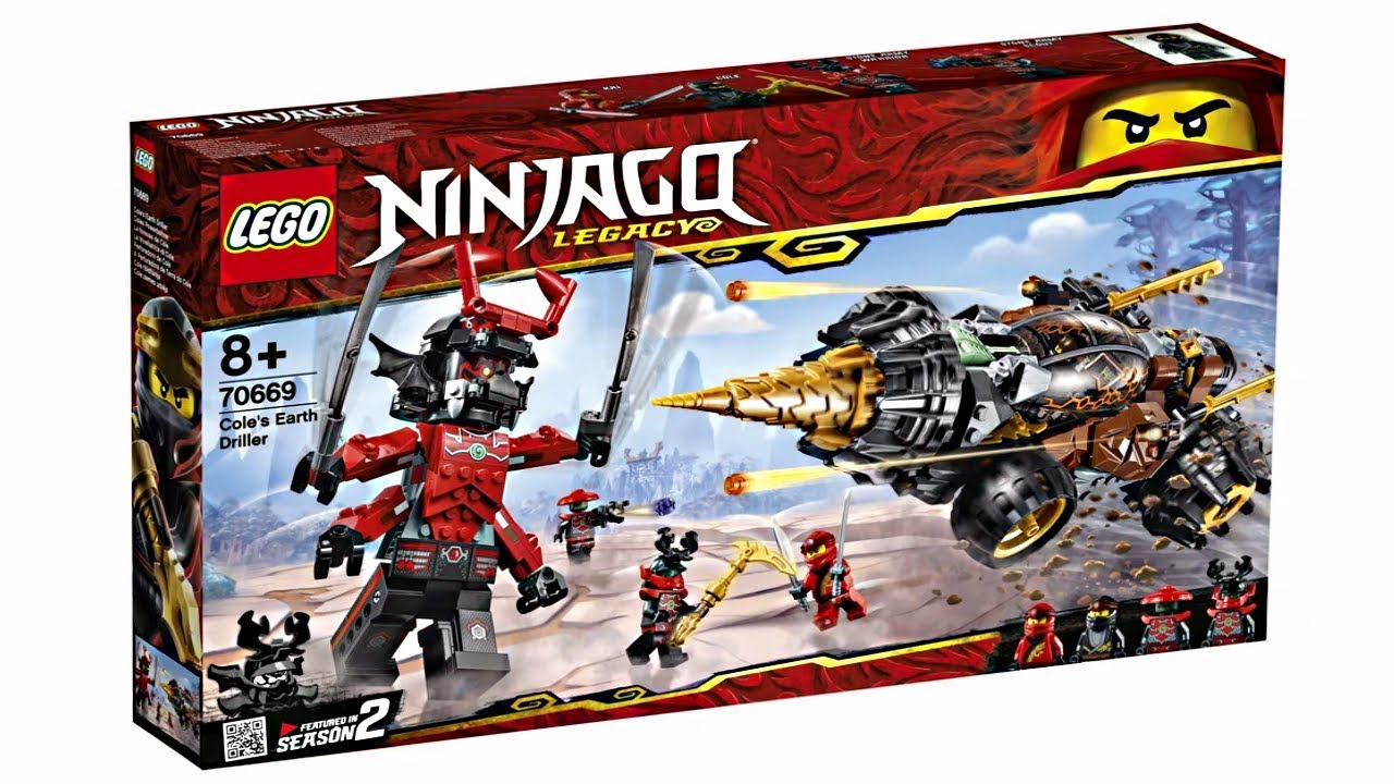 lego ninjago 2019 sets best wave in a long time youtube. Black Bedroom Furniture Sets. Home Design Ideas