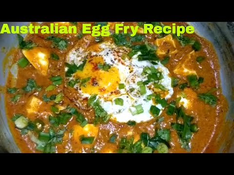 Australian Egg Fry Recipe | Australian Fry Egg | Australian Fry Egg In Hindi | ऑस्ट्रेलियन एग फ्राय