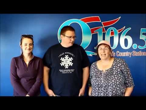 The Q-106.5 Staff Wishes J.R. Well On His Last Day