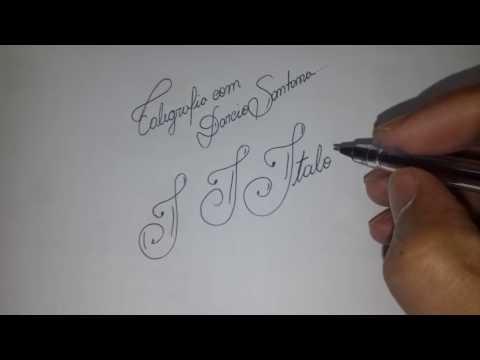 CURSO DE CALIGRAFIA PARTE 2 de YouTube · Duração:  10 minutos 57 segundos