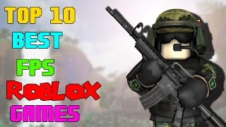 Top 10 Best FPS Roblox games (2016)