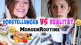 VORSTELLUNG vs. REALITÄT: MORGENROUTINE ♡ BarbieLovesLipsticks
