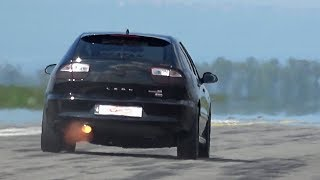 Seat Leon Cupra R Turbo 500 HP Tuning Acceleration & Sound