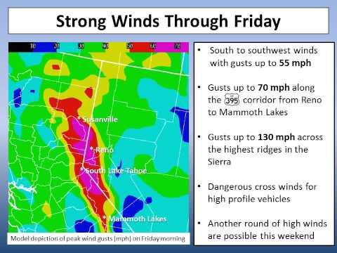 NWS Reno - Nov. 29, 2012 - Winter Storm Briefing