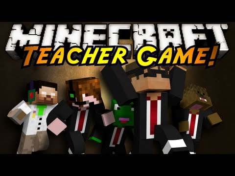Minecraft Mini-Game : TEACHER!