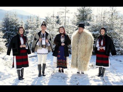 Grup colindători - Costel Popa, Suzana și Daciana Vlad, Ilie Dură și Angelica Pantea