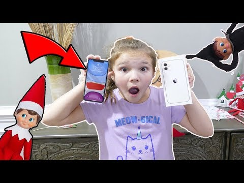 My Elf On The Shelf Gave Me An iPhone X! Is My Elf An Imposter? Mean Elf On The Shelf Is Back!