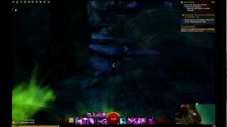 Guild Wars 2 - Cursed Shore  Chest from Buried Archives jumping puzzle (Catedra of Silence)