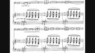 Leo Ornstein - Cello Sonata No. 1, Op. 52