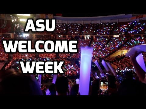Arizona State University Experience: What is ASU Freshman Welcome Week Really Like???