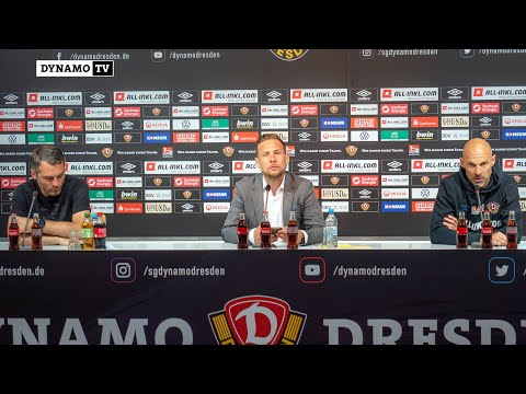 3. Spieltag | SGD - H96 | Pressekonferenz nach dem Spiel