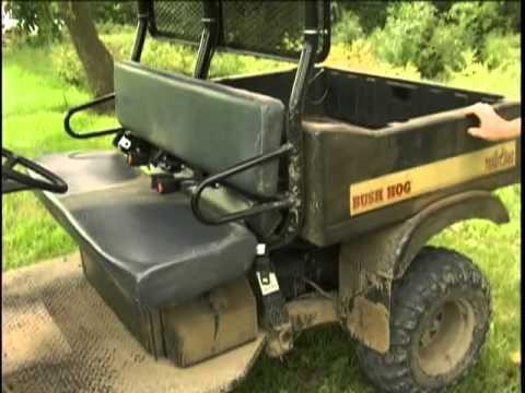 Bush Hog Th 4400 4x4 Used Side By Side Muv Atv 4 Wheeler