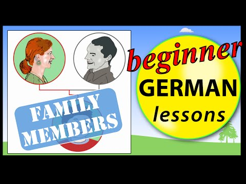 Family members in German | Beginner German Lessons for Children
