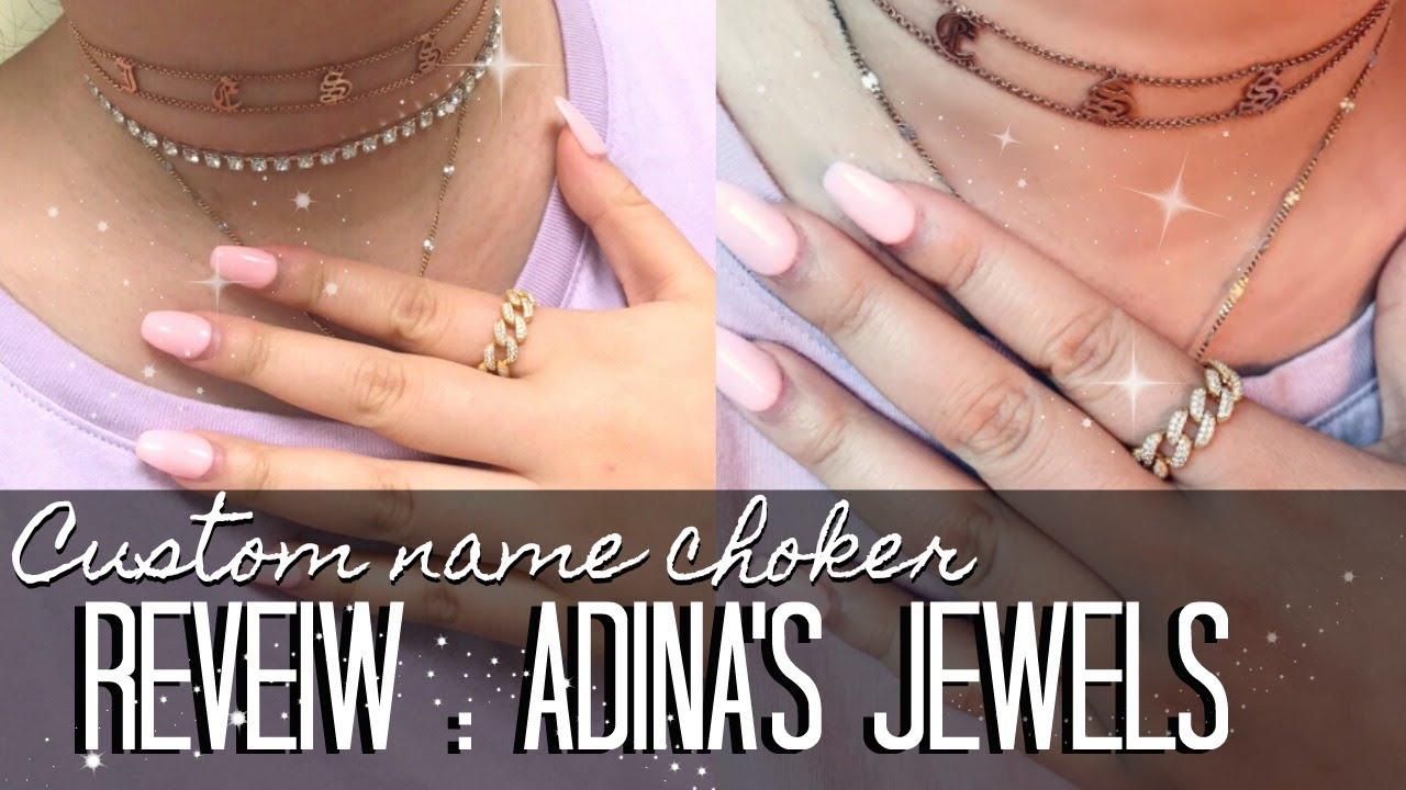 First Impressions Adina S Jewels Old English Choker Ring Alternative To Hrh Chain J Wong