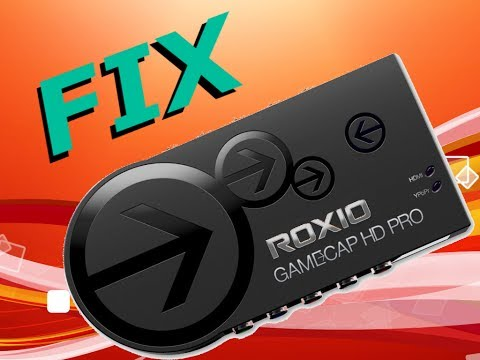 How to Fix Roxio Game Capture HD Pro - No Signal - No Preview