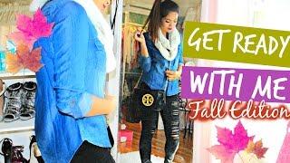 Get Ready With Me! Fall Edition | Belinda Selene