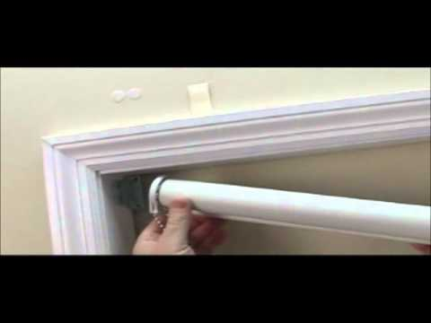 how to install economy blackout roller shades. Black Bedroom Furniture Sets. Home Design Ideas
