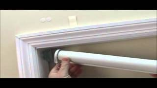How to Install Economy Blackout Roller Shades - BlindsOnLine.com