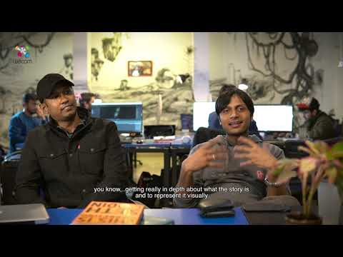 An Animation Studio Visit - Wacom India