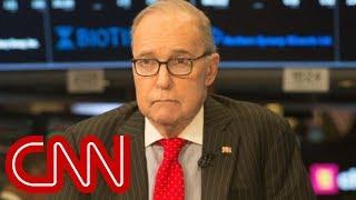 Trump taps Larry Kudlow as next top economic adviser