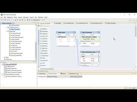 How To Parse JSON Response Using Data Processor - YouTube