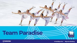Team Paradise (RUS)   Helsinki 2019   #WorldSynchro
