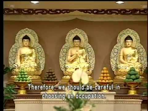 What does the Dharma tell us about choosing an occupation  (GDD-847)DVD