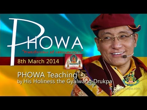 Phowa Teaching (English&Vietnamese) - 8th March by HH Gyalwang Drukpa