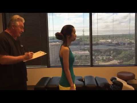 Houston Chiropractor Dr Gregory Johnson Adjust Lady Who Exacerbated Her Neck & Back Pain Driving