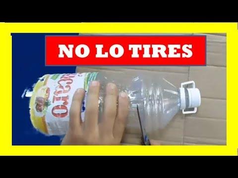 5 trucos con botellas de pl stico o life hacks diy youtube - Manualidades con vasos de plastico ...