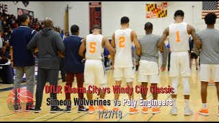 Simeon Career Academy of Chicago defeats Baltimore Poly in Charm City vs Windy City Classic 1/27/18