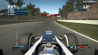 F1 2012 Xbox 360 Demo - Season Challenge at Monza