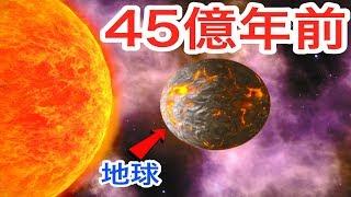 45億年前の地球で最初の生命『単細胞』→『生物』に進化させる面白ゲーム #1【 地球シミュレーション 】実況