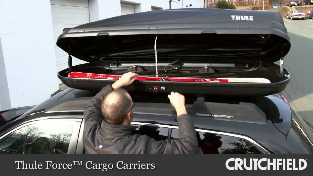 Thule Force Xl >> Thule Force Cargo Carriers Overview Crutchfield Video