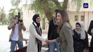 جلالة الملكة رانيا العبدالله تزور مبادرة أنا اتعلم وتتفقد أعمالها - (20-2-2018)