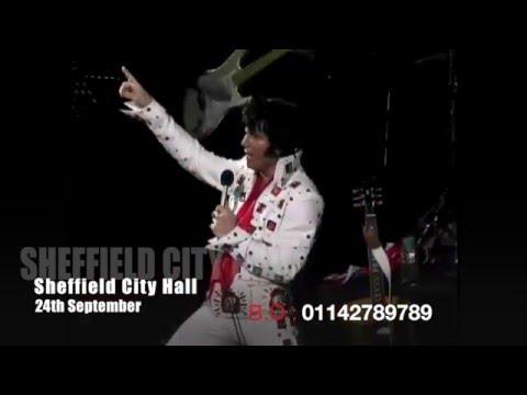 The World Famous Elvis Show sheffield 2016